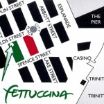 map to La Fettuccina restaurant in cairns